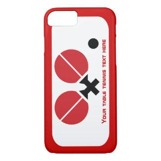 Las estafas y la bola del ping-pong de los tenis funda iPhone 7