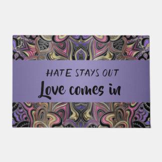 Las estancias del odio hacia fuera aman vienen en