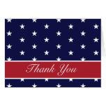 Las estrellas de la bandera americana le agradecen felicitación
