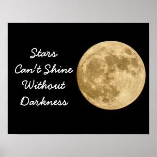 Las estrellas no pueden brillar -- Impresión del