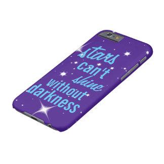 Las estrellas no pueden brillar sin caja del funda barely there iPhone 6