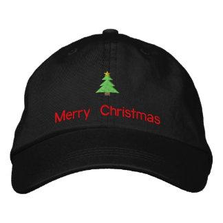 Las Felices Navidad bordaron el gorra