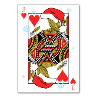 Las Felices Navidad Jack de corazones - añada sus