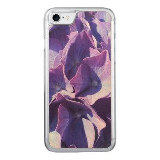 Las flores azules del Hydrangea se cierran encima Funda Para iPhone 7 De Carved