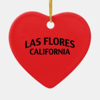 Las Flores California Ornaments Para Arbol De Navidad