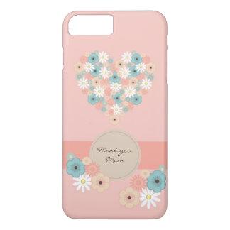 Las flores en forma de corazón a decir le funda para iPhone 8 plus/7 plus