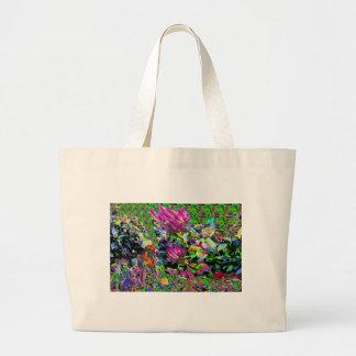 Las flores pican los regalos hermosos 99 del bolsa tela grande