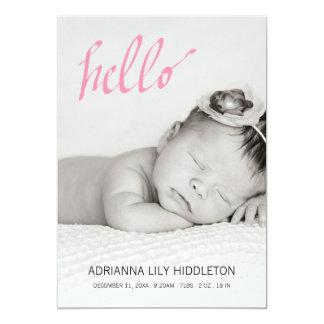 Las fotos de la invitación tres del nacimiento del