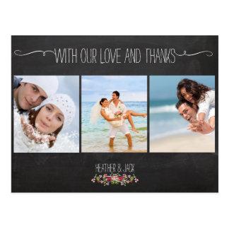 Las fotos de la pizarra/del boda de PixDezines le Postal