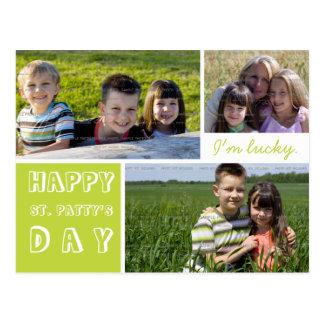 Las fotos felices del día tres del St Patricks Postal