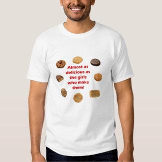 ¡Las galletas del explorador son deliciosas! Camisetas