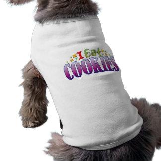 Las galletas I comen Camiseta Sin Mangas Para Perro