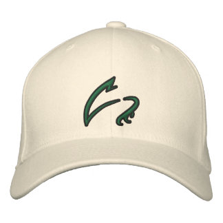 Las garras blancas bordaron el gorra gorra de beisbol