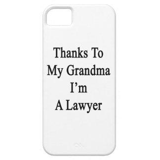 Las gracias a mi abuela soy abogado iPhone 5 cobertura