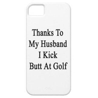 Las gracias a mi marido golpeo extremo con el pie funda para iPhone SE/5/5s