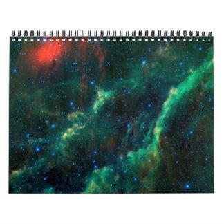 Las grandes nebulosas calendario