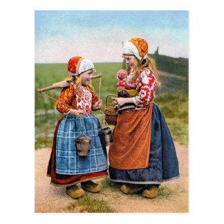 ¡Las hermanas holandesas de la POSTAL no pueden es