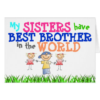 Las hermanas tienen mejor tarjeta de Brother
