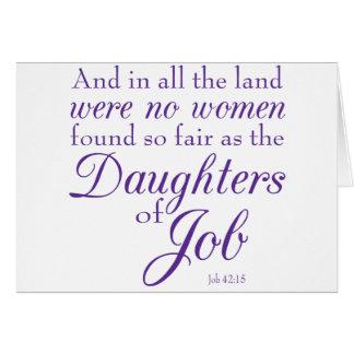 Las hijas del trabajo felicitaciones