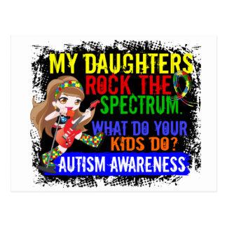 Las hijas oscilan el autismo del espectro postal