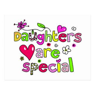 Las hijas son especiales postal