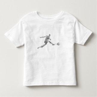 Las ilustraciones fantasmas de la carne de la camiseta de bebé