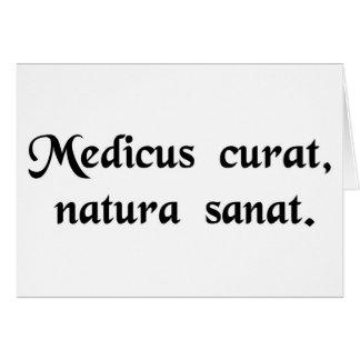 Las invitaciones del médico curaciones de natural felicitaciones