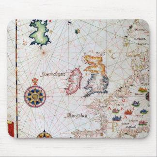 Las islas británicas, el Iberia y la África del no Alfombrilla De Ratón