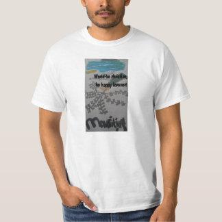 Las islas/mundo de Mauricio, sean camiseta