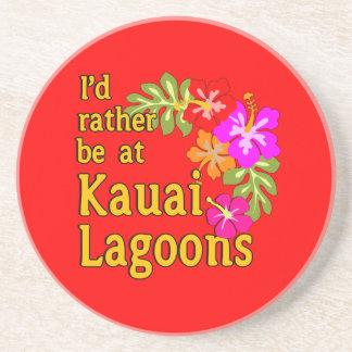 Las lagunas de Kauai estaría bastante en la laguna Posavasos Cerveza