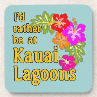 Las lagunas de Kauai estaría bastante en la laguna Posavasos De Bebida