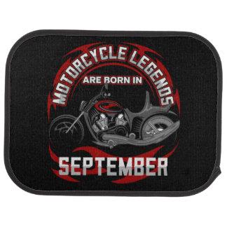 Las leyendas de la motocicleta nacen en septiembre alfombrilla de coche