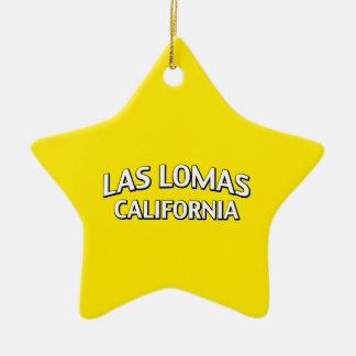 Las Lomas California Ornaments Para Arbol De Navidad