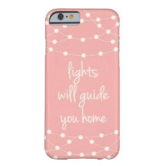 Las luces le dirigirán casero funda barely there iPhone 6