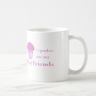 Las magdalenas son mis bestfriends taza de café