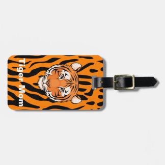 Las mamáes del tigre muestran sus rayas - etiqueta