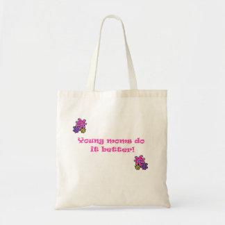 Las mamáes jovenes mejora bolsa de mano