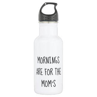Las mañanas están para la botella de agua de la