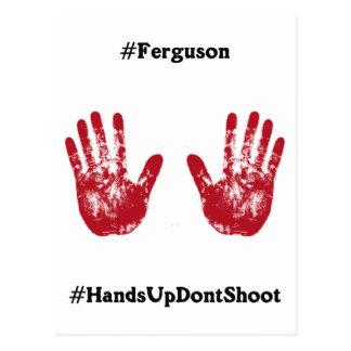 Las manos para arriba no tiran, Hashtag para Postal
