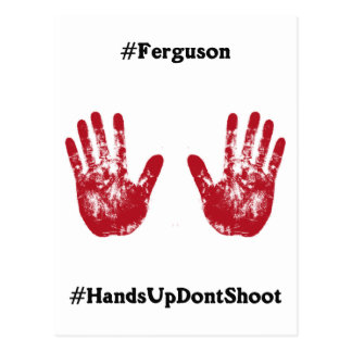 Las manos para arriba no tiran, Hashtag para Tarjetas Postales