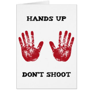 Las manos para arriba no tiran, la solidaridad felicitación