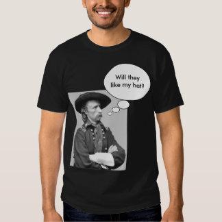 "¿Las maravillas de Custer ""theylike mi gorra? "" Camisetas"