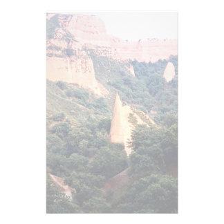 Las Medulas (sitio ex-Romano) de la mina de oro, Papeleria