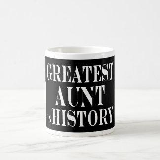 Las mejores tías: La tía más grande en historia Taza De Café