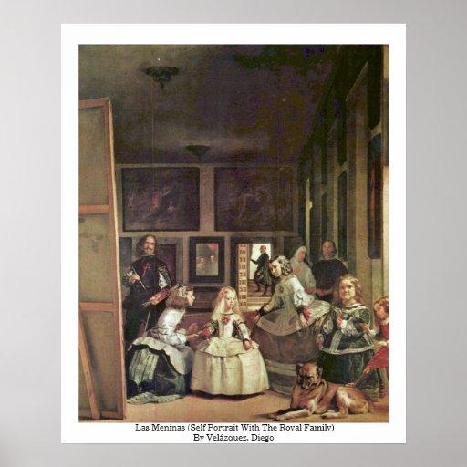 Las Meninas (autorretrato con la familia real) Impresiones