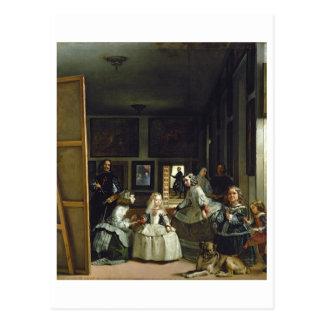 Las Meninas o la familia de Philip IV, c.1656 Postal