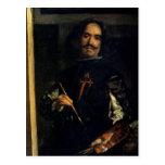 Las Meninas o la familia de Philip IV Tarjeta Postal