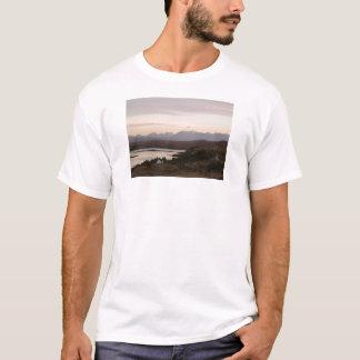 Las montañas de Cuillin en la isla de Skye en Camiseta