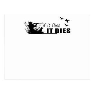 las moscas muere postal