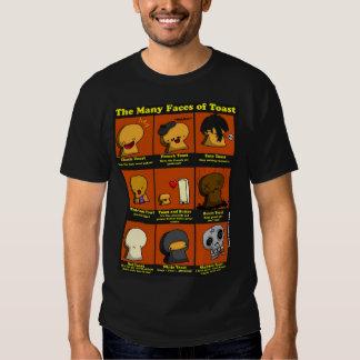 Las muchas caras de la tostada camisas